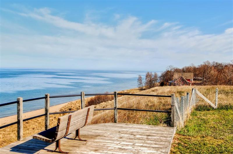 Make your way to the stunning coast of Lake Michigan.