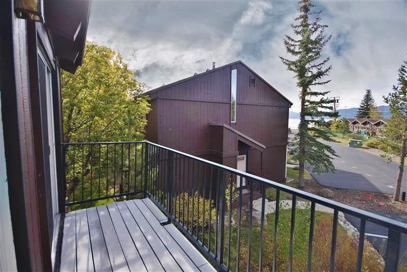 Step outside to one of the condo's 2 private decks to enjoy phenomenal views