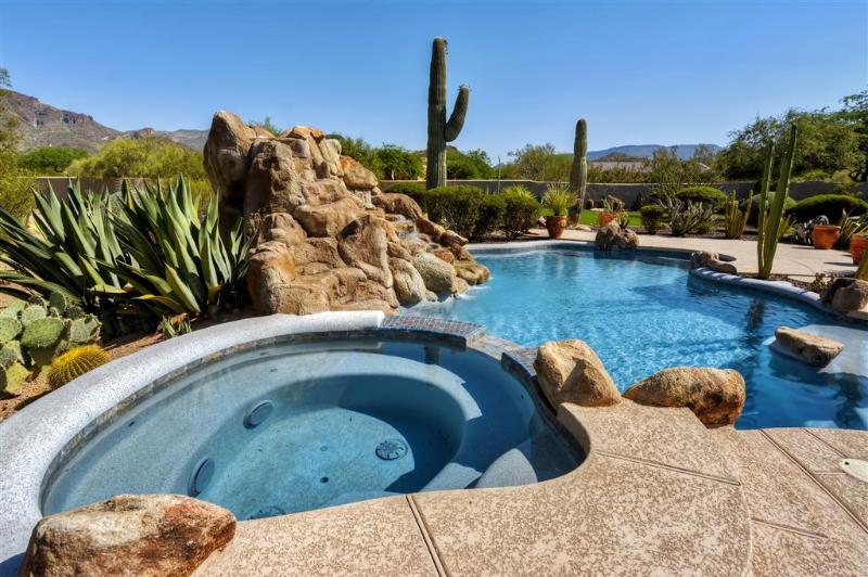 Let this exquisite Cave Creek vacation rental house serve as your home base for exploring Arizona!