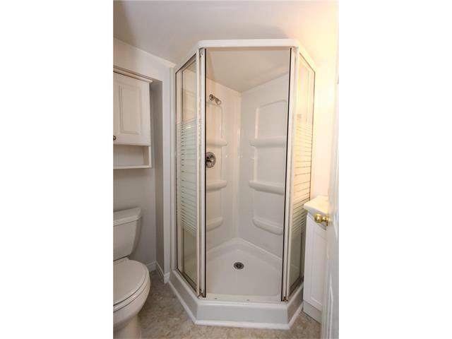 Basement three-piece bathroom.