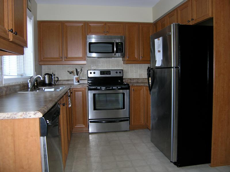 Your spacious kitchen, fully equipped with everything you will need to make gourmet meals.