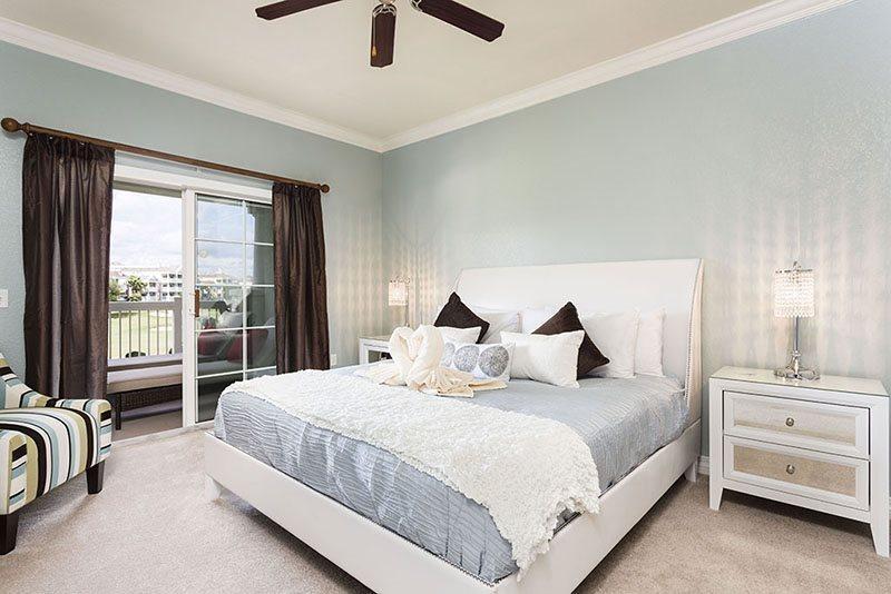 Suite principal tamaño king con balcón privado