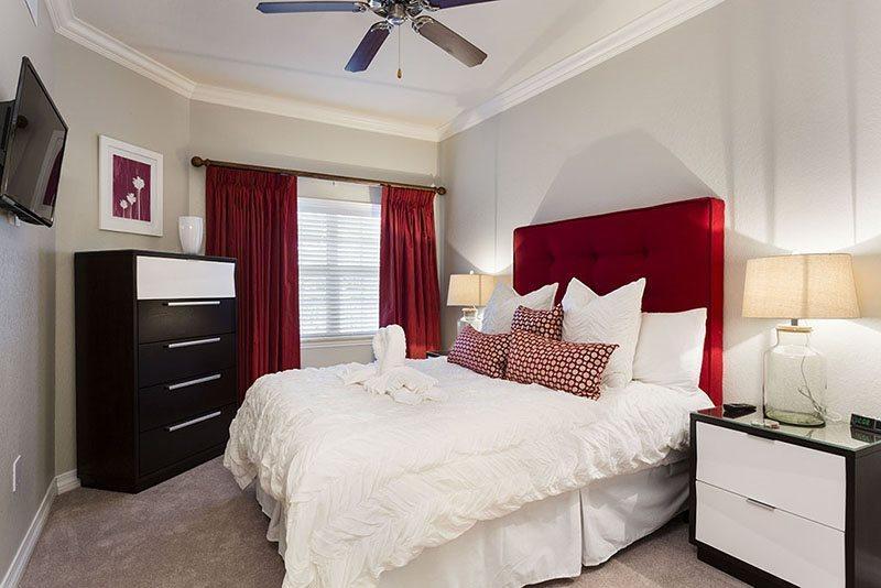 Dormitorio principal de tamaño Queen