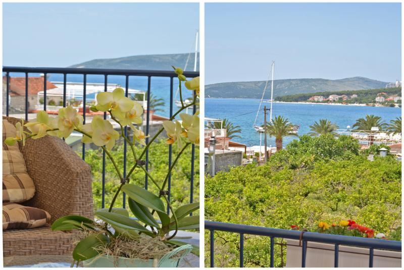 The Villa Marini Dvori is beautiful and cosy Dalmatian house. It's got  a fantastic view of the sea.