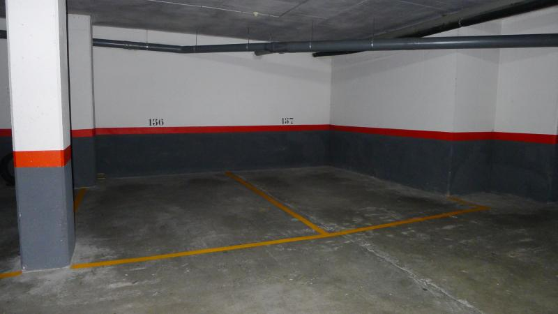 2 safe parking places in our underground garage with lift to the apartment
