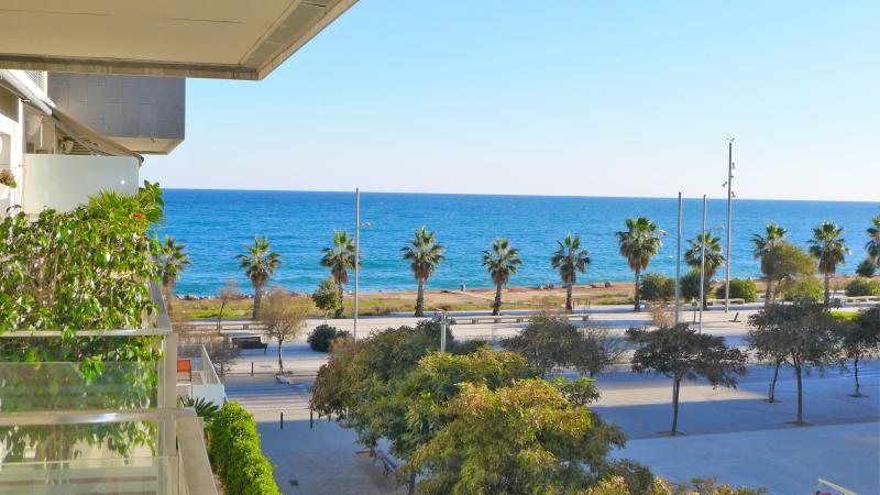fantastic sea view from the balcony