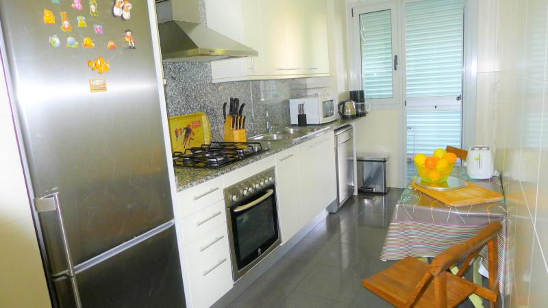 fridge, dish washer, coffee machine, kettle, microwaves, toaster, baking oven, washing machine,dryer
