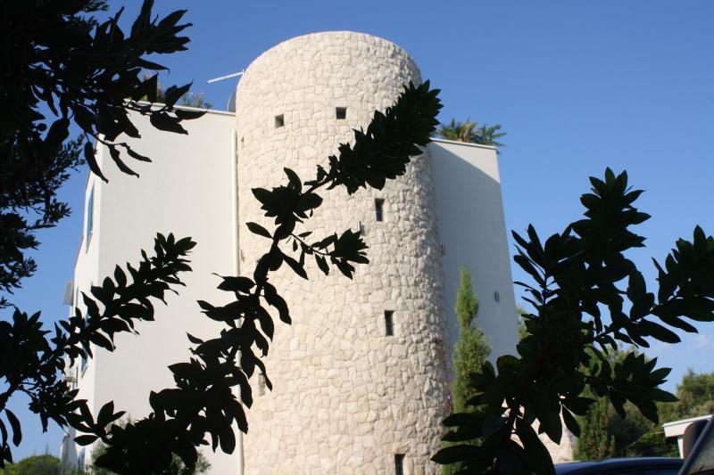 l'inconfondibile torre