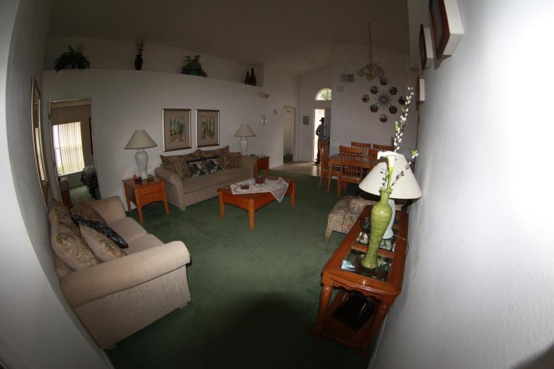 Lounge from Master Bedroom Doorway
