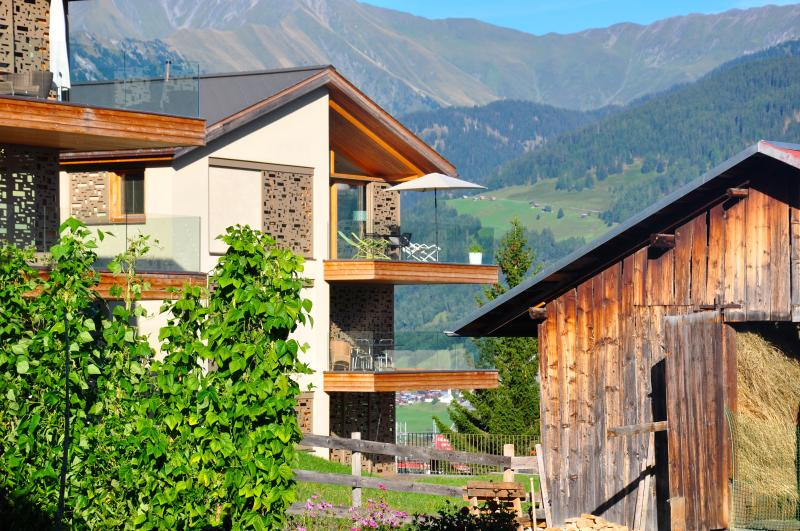Sustainable mountain architecture, well integrated in local environment