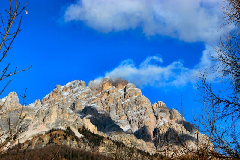 Vista delle Dolomiti