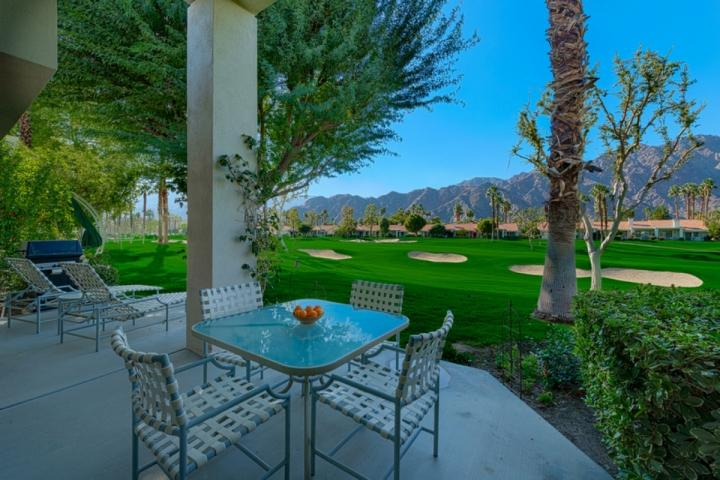 Overlook the 8th fairway of the PGA West Arnold Palmer Course