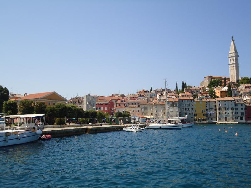 Holiday right on the seafront in Rovinj!