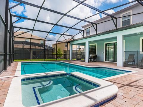 Pool, Water, jacuzzi, bad, Resort