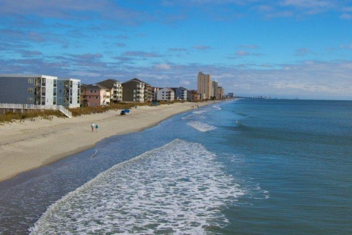 Miles et des miles de belles plages vous attendent sur votre Myrtle Beach vacances!
