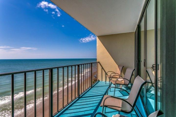Amazing Oceanfront View from this 7th floor balcony at Horizon East, Garden City Beach, SC