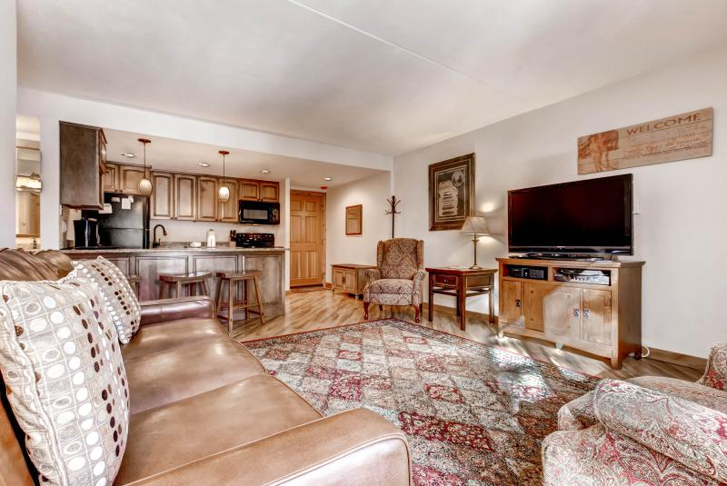 Experience the best of Breckenridge from this beautiful vacation rental condo!