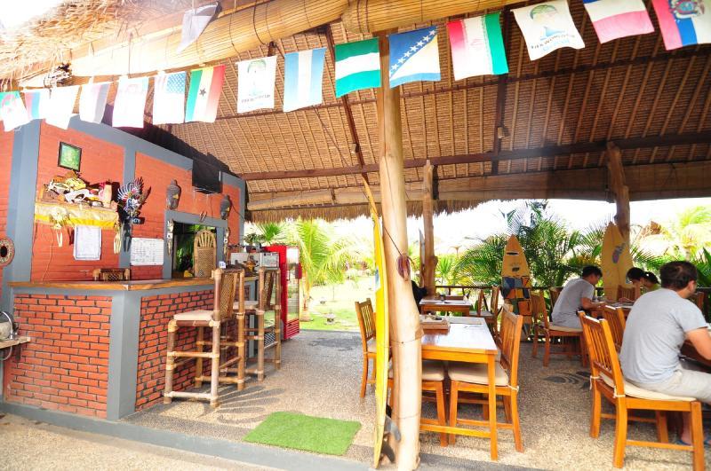 Recepción + restaurante