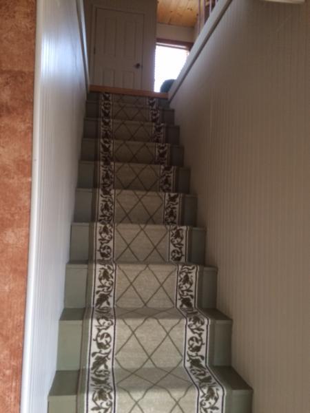 antidérapant escalier menant à l'étage