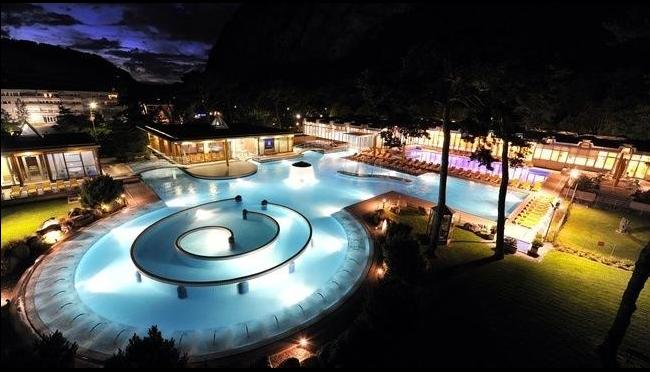 The stunning Thermal Baths at Lavey-les-Bains are 30 minutes drive away.
