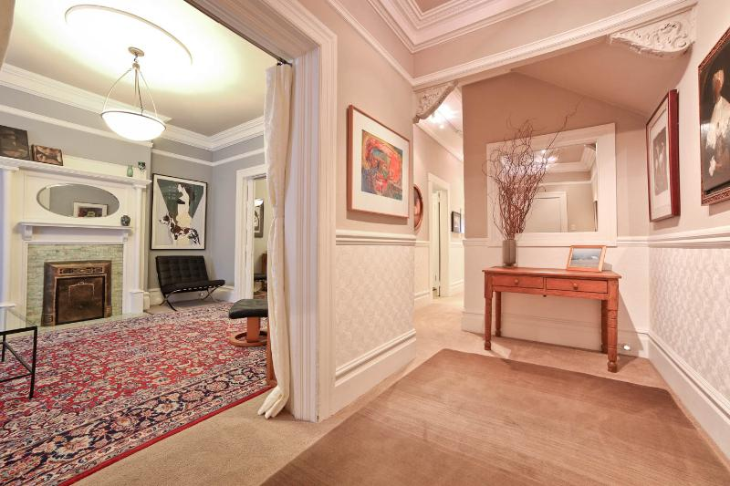 Elegant Entry Sets the Tone. Period Detail. Welcome to YourHomeInSanFranciso