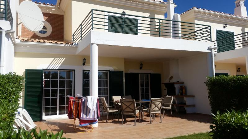 Our Sunny Terrace with private Garden