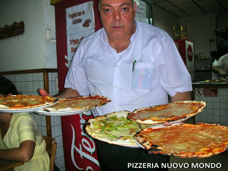 Pizzeria Nuovo Mondo-5 minutes walking from home-the best pizza in Rome! Enjoy!