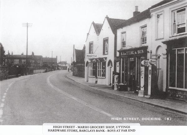 Historisches Foto der Uttings Store (Oldhardware)