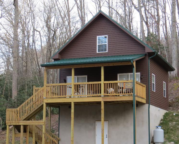 Winderig holle cabine