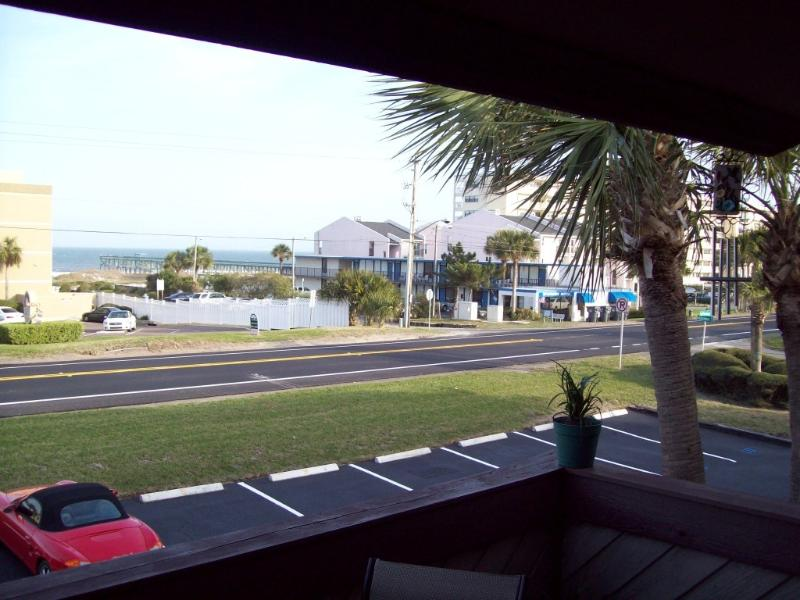 Ocean View from upper deck of Townhome # 7