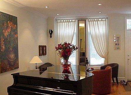 Grand Piano at foyer