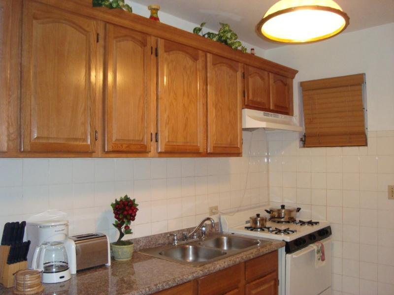 Brand New Kitchen Frige & Microwave on Rear Wall
