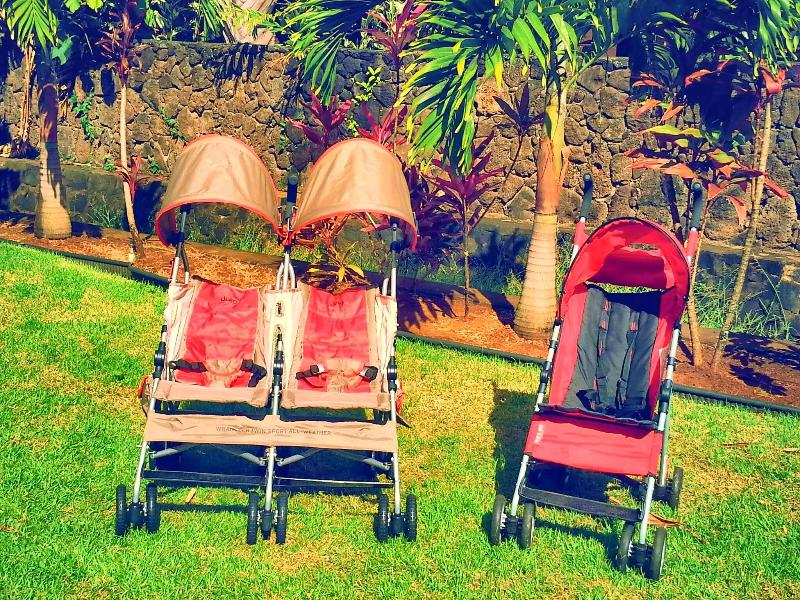 Single and double stroller