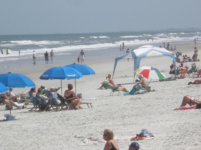 beach across street. 9th best beach in United States. Check for yourself.