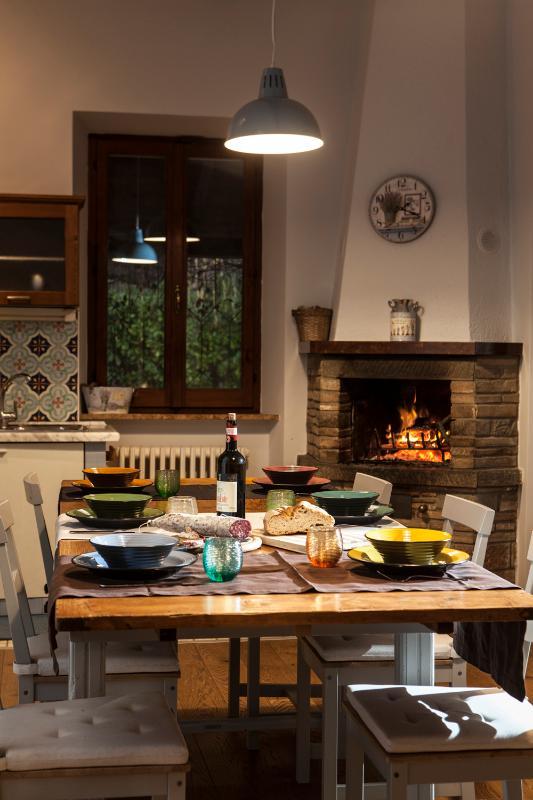 L'ampia e luminosa cucina per i vostri pasti