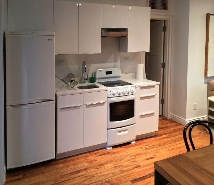 Brand new kitchenette fully equipped with all new appliances.