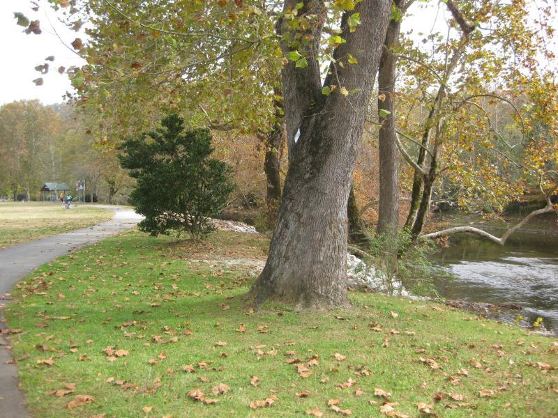 River walk park in Murphy.