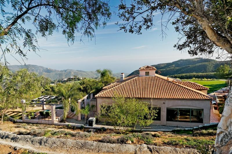 Welcome to Rancho Chiquita a jewel of a Spanish Casita nestled in  Malibu hills with views of Ocean