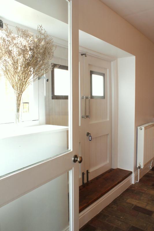 Doppeltüren aus der Küche