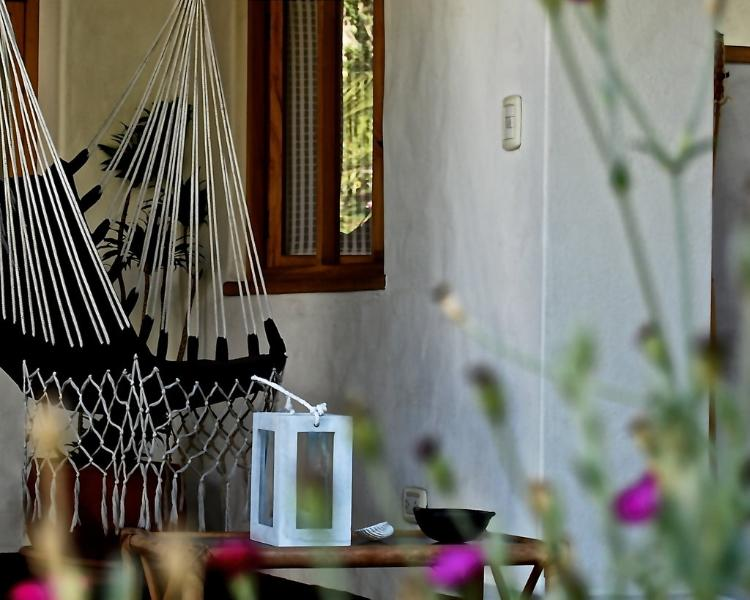 outdoor swing chairs on your private terrace