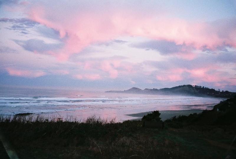 Yaquina Head at dusk