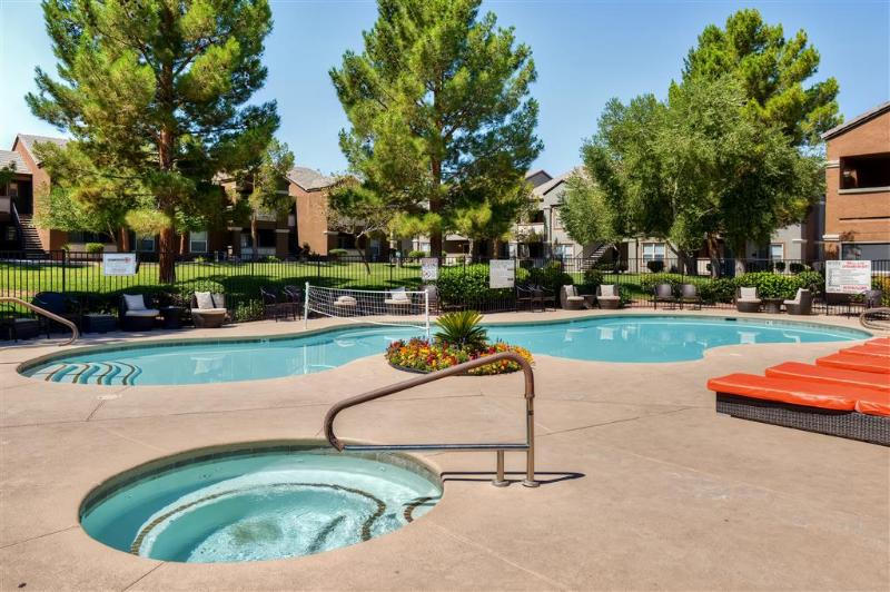 Soak up the Nevada sunshine next to the sparkling complex swimming pool!