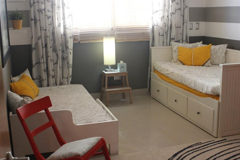 Second Dormitory with the twin beds opened