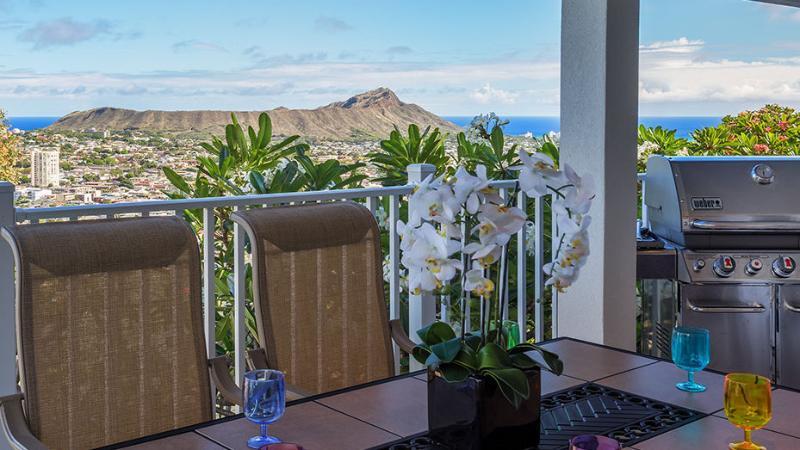 Diamondhead View from Balcony