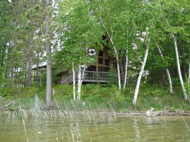View of house from shoreline