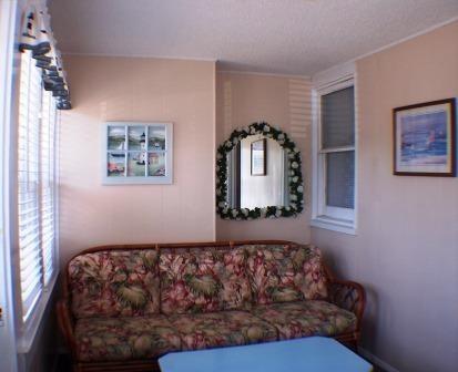Apartment TV & Sitting Room