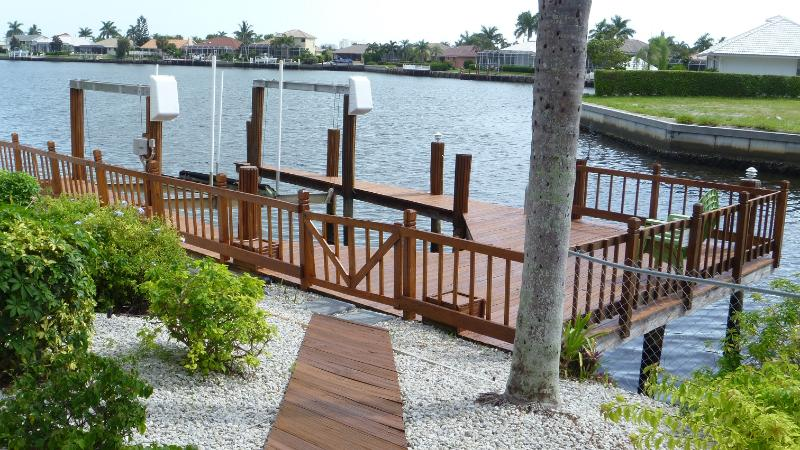 Dock with Boat Lift and Breathtaking Wide Water View !
