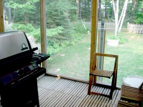 BBQ & screened porch