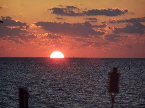 Another spectacular sunset from the vacation home