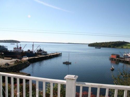 View from the Upper Deck over Lunenburg bay